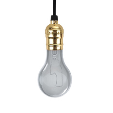 Giá bán Edison E26/E27 Screw Bulb Holder Gold No Switch (Intl)