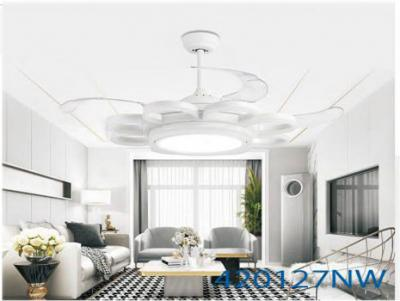 Quạt trần đèn hiện đại siêu đẹp TH-42012